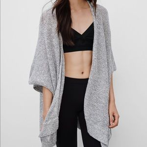Aritzia Community Iconic Cape Cardigan
